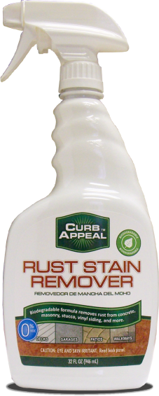 Curb Appeal Rust Remover