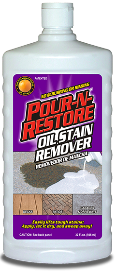 Pour-N-Restore Oil Stain Remover