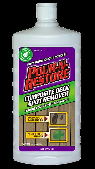 Composite Deck Spot Remover